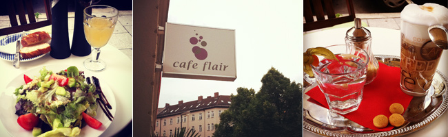 Cafe Flair in Haidhausen, Munich, Germany