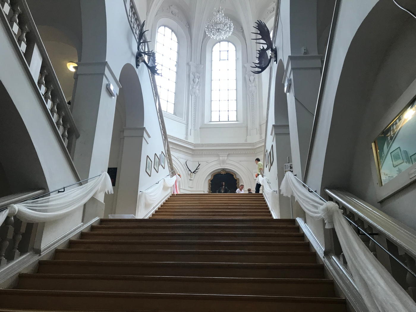 Stairs - German Hunting and Fishing Museum - Munich - Wahlmünchnerin