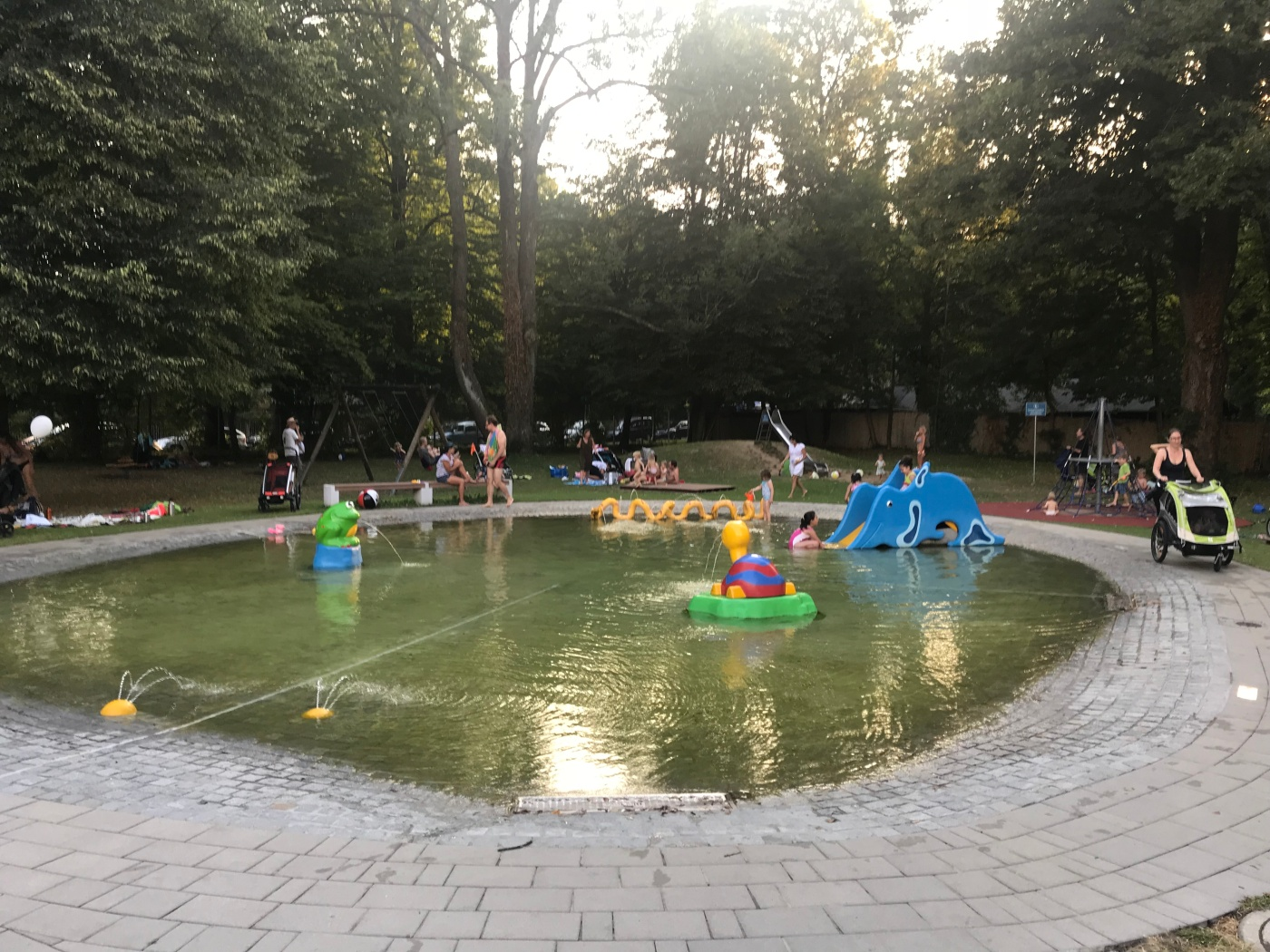 Kiddie Pool at Maria Einsiedel Bad - Munich - Germany - Wahlmünchnerin