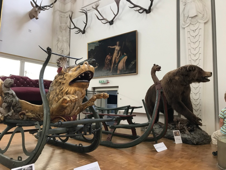 Hunting Sleds  - German Hunting and Fishing Museum - Munich - Wahlmünchnerin