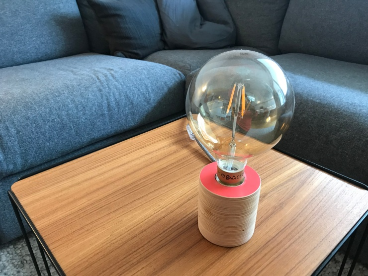 Lamp purchased at Munich Stijl Markt