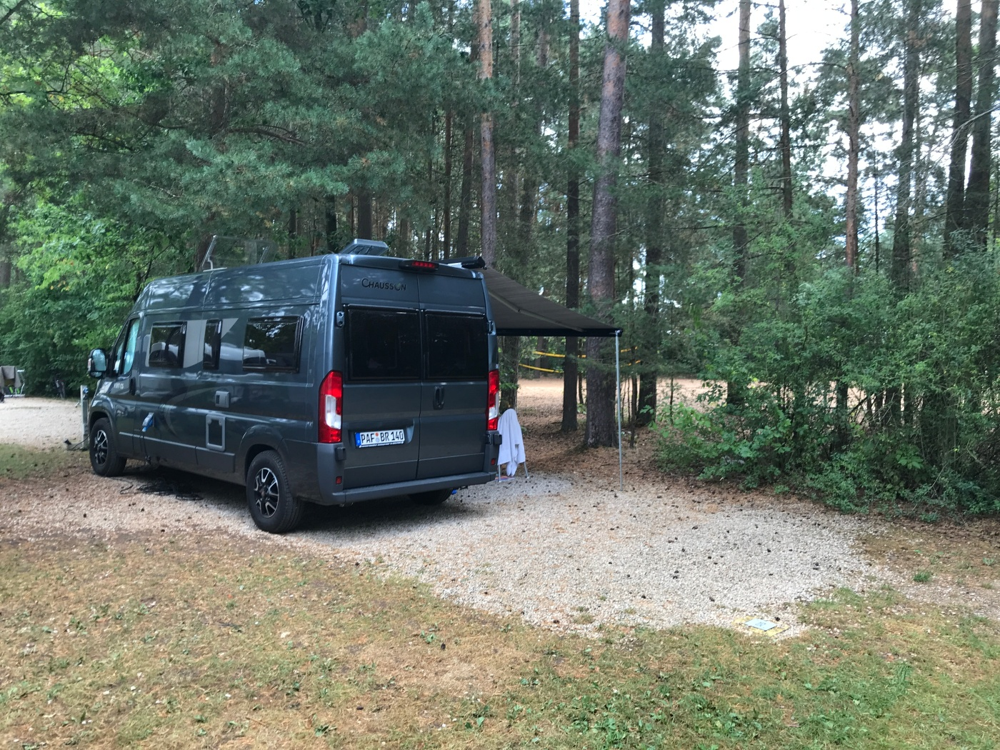 Camping in Bavaria - Waldcamping Brombachsee