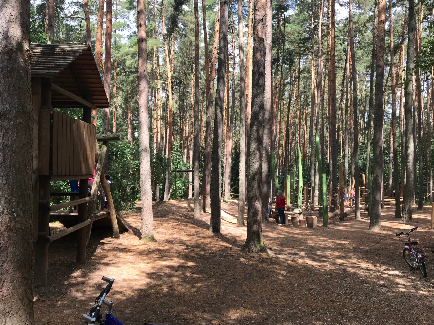 Camping in Bavaria - Waldcamping at Brombachsee - Wahlmünchnerin