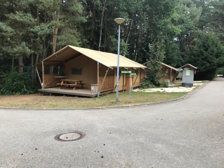 Safari tent Waldcamping in Brombachsee