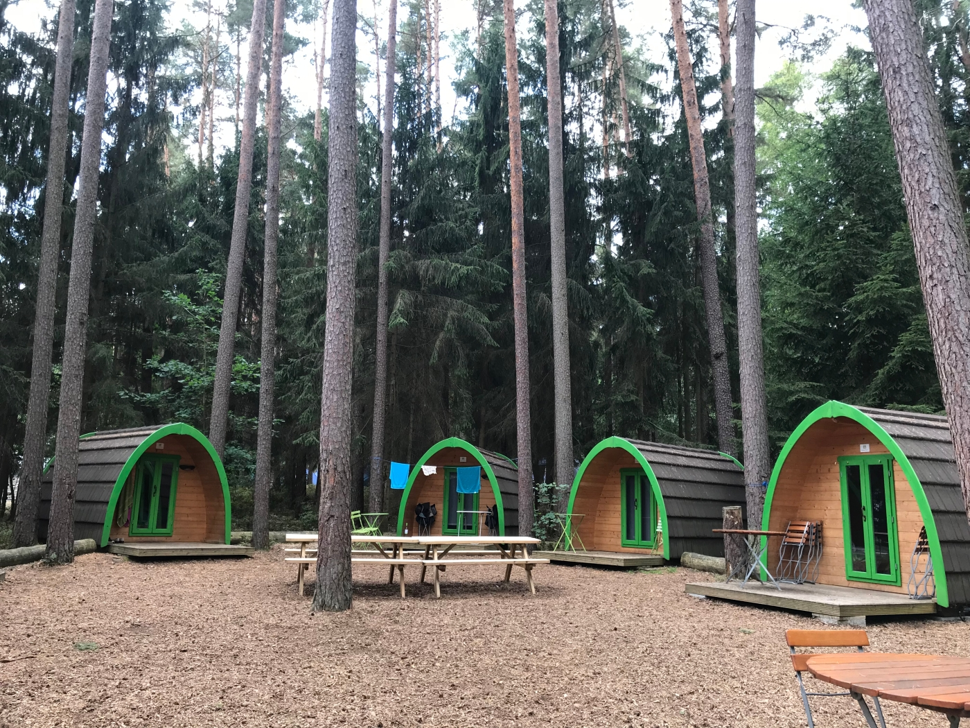Camping Pods at Waldcamping in Brombachsee